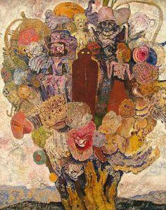 Flowering Tree, 1930, Frits Van den Berghe