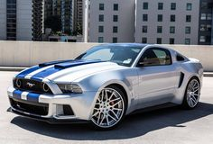 Widebody Shelby Mustang from the Need For Speed Movie. Puts out 900hp