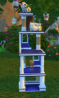 Lana Cc Finds Pet Stories Reward Cat Condo Functional Cat