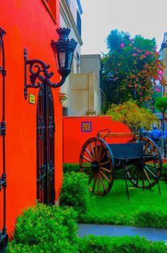 Colours of Miraflores, Lima, Peru
