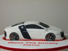 Audi R8 Cake | All cakes created by The Cake Lady - www.face… | Flickr