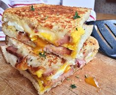 Daycare Menu For Children, Cheesy Ham Egg Sandwiches - http://daycareinventory.com/daycare-menu-for-children-cheesy-ham-egg-sandwiches/