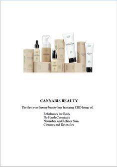 Cannabis baeuty лечебная косметика из конопли Skin Cleanse, Cbd Hemp Oil, Luxury Beauty