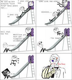 haha *le leap*