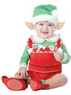 Santa's Lil Helper Infant & Toddler Costume | California Costumes