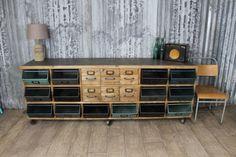 Cutting edge urban warehouse furniture - beautiful sideboard #industrial