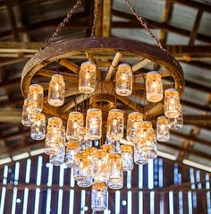 wagon wheel chandelier canada - Google Search