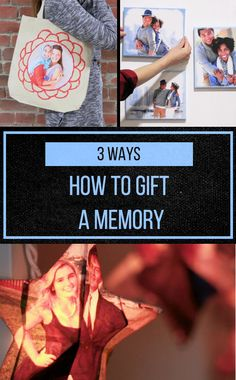 3 Ways To Gift A Memory