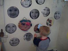 A study of faces at 'Garden Gate Child Development Center'