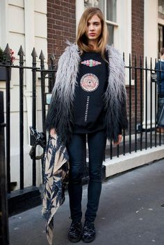 #streetstyle london look