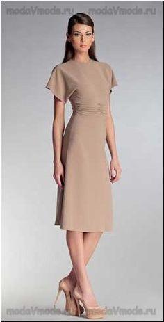 Очень красивые длинные платья с рукавом - нарядные и на каждый день