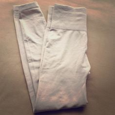 Trinity fleece leggings in Sand NWOT - never worn, just tried on once. Love the seller and absolutely no issues there; I just think this would fit someone better without curves. Very soft, brushed fleece and great color. Purchased for $18, without shipping, as part of a bundle. Pants Leggings