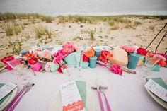 Bright + Playful Surf Wedding Inspiration