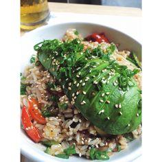 veggie lemongrass rice - KO Asian Kitchen