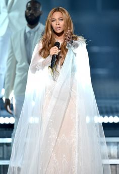 Beyoncé Performs Take My Hand Precious Lord At 57th Grammy Awards Staples Center Los Angeles California 08.02.2015