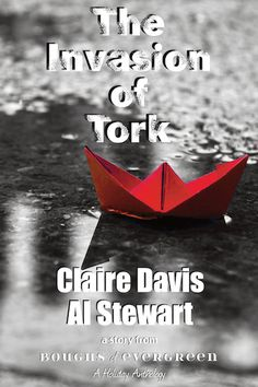 The Invasion of Tork by Claire Davis and Al Stewart: To make a perfect Christmas pudding you need Adam, a super-cool juicy sultana of a volunteer at the local homeless shelter. Add Tork, a green-haired, homeless, exotic spice.  What happens when they are mixed together? You get a delicious, fiery dessert, and snow on Christmas day.