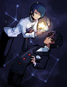 Persona 5   Yusuke Kitagawa and Akira Kurusu and SPACE!