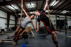 Love for Fitness! 11 Awesome Pre-Wedding Photos of a CrossFit-Obsessed Couple - Wedding Digest Naija