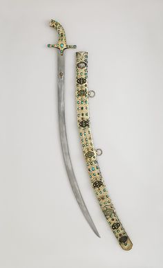 Scimitar, ca. 1600–1625. Turkish. The Metropolitan Museum of Art, New York. Rogers Fund and Pfeiffer Fund, 1978 (1978.145) #sword