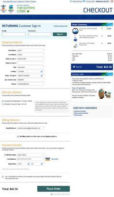 Optimize Checkout Page
