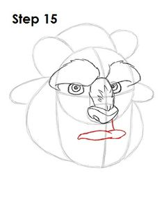 Learn how to draw the Beast from Walt Disney's Beauty and the Beast with this step-by-step tutorial and video. A new cartoon drawing tutorial is uploaded every week, so stay tooned! Cartoon Drawings Of People, Disney Drawings, Beauty And The Beast Drawing, Trill Art, Create This Book, Disney Cartoon Characters, Cartoon Drawing Tutorial, Sketch Inspiration, Princesas Disney