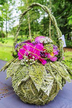 Floral bag on Autumn Fair.