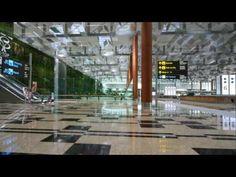 Singapore Changi Airport Terminal 3 - LivingPod Video. - YouTube