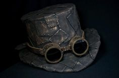DIY Steampunk Top Hat and Pattern — by Lost Wax