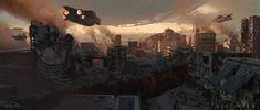 ArtStation - The Last City - Ruined City, Sung Choi