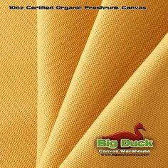 10 oz Organic Preshrunk Canvas Artisan Gold - CLOSEOUT