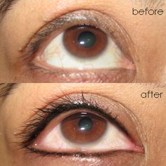 Permanent makeup eyeliner styles permanent eyeliner for Tattoo lining tips