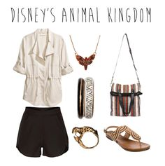 Show you wild #DisneySide with these shabby chic outfit tips inspired by Disney's Animal Kingdom
