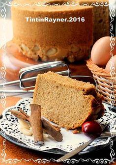 Chiffon Cake Cinnamon Kenari Harum Lembutt
