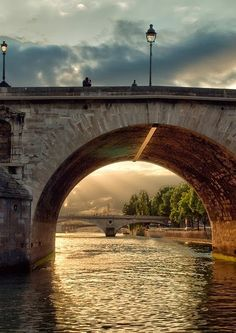 River Seine, Paris, France......
