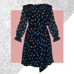 Isolda Fru Fru - Off the Shoulder Silk Dress  Find it at Mi.Shop
