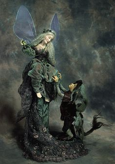 Overheard on a Saltmarsh... I love both Brian and Wendy Froud's artwork.  Maybe someday... :-)