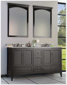 Berkshire Espresso Bath Vanity By Foremost Contemporary Bathroom Vanities And Sink Consoles Rebecca Pacifico Wolf Clic Cabinets