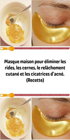Homemade mask to eliminate wrinkles dark circles sagging skin and acne scars. (Re - mask making Beauty Care, Beauty Hacks, Mascara Hacks, Homemade Mask, Les Rides, Sagging Skin, Face Skin Care, Acne Scars, Diy For Teens