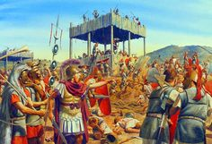 """-0042 Marco Antonio at the First Battle of Philippi"""" Steve Noon"""