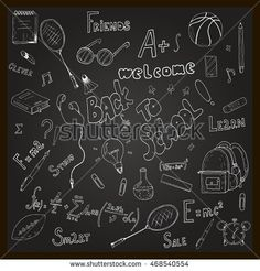 Back to school, handdrawn, graphic, doodle, sketch