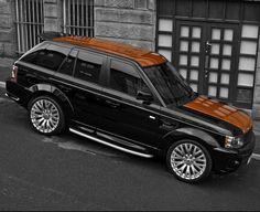 Vesuvius Edition Range Rover Sport 300