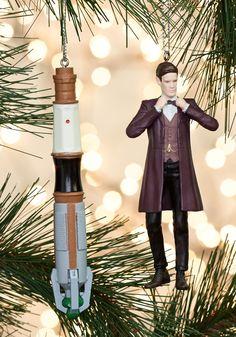 A Matter of Timey Wimey Ornament Set
