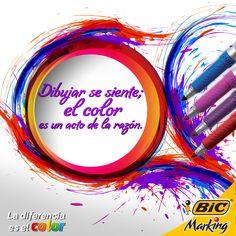 Por eso el color refuerza el diseño.#LaDiferenciaEsElColor #Frases #Quotes