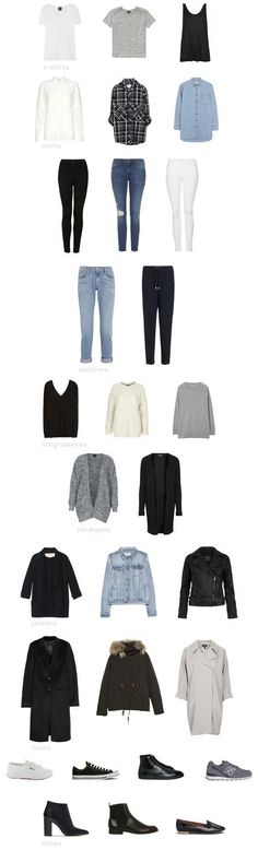 I'm minimizing my closet and building a capsule wardrobe from scratch, starting… #wardrobebasicscasual