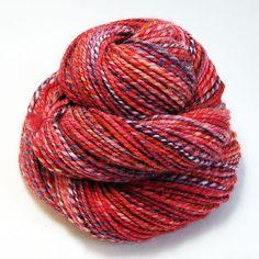 Handspun Yarn Daphne 135 Yards by valentinearts on Etsy