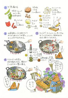 img935 のコピー Girls Night Crafts, Recipe Drawing, Planner Doodles, Cookbook Design, Food Poster Design, Food Sketch, Sketch Notes, Fake Food, Food Drawing