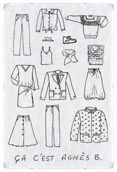 réedition  #agnesb #womenswear