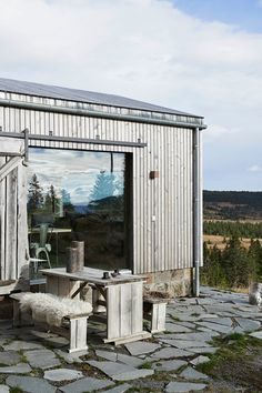 Modern Cabin Exterior - From cosy cabins to modern apartments, our favourite Scandinavian interiors - interior design ideas on HOUSE by House & Garden