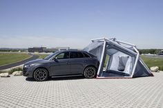 Audi x Heimplanet Inflatable Camping Tent (1)