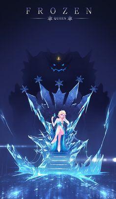 氷と雪の王座 by 清氣球 on pixiv